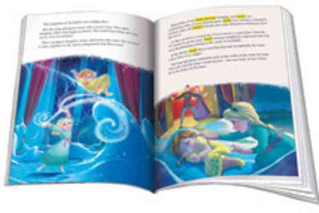 Identity Direct - Choice of Personalised Kids Hard Cover Storybook  - Save 44%