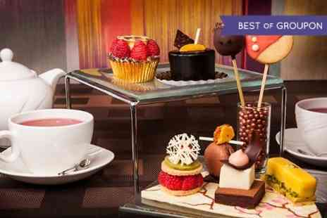 London Hilton on Park Lane - Chocoholic Afternoon Tea For Two - Save 45%