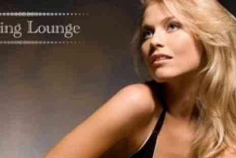 The Cutting Lounge - Half Head of Highlights or Full Head Tint, With Cut, Finish and LOreal Conditioning Treatment - Save 72%