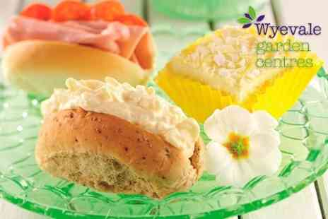 Wyevale Garden Centres  -  Traditional Afternoon Tea For Two  - Save 47%