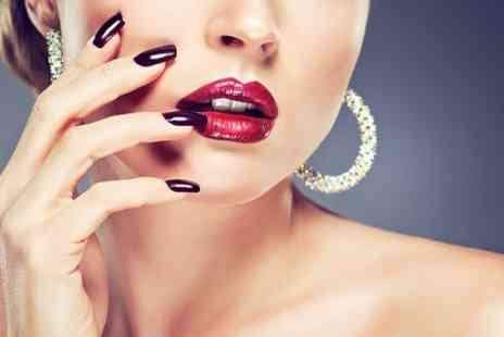GK Beauty Salon - Gellux Manicure or Pedicure or Both  - Save 39%