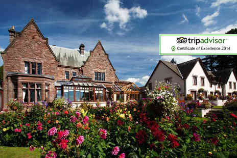 Appleby Manor - One night stay for 2 with breakfast, 4 course dinner, bubbly and canapes - Save 52%