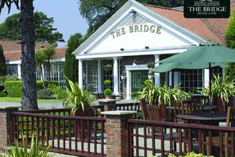 The Bridge Hotel & Spa - Unwind and Dine Spa Package with Two Course Meal - Save 50%