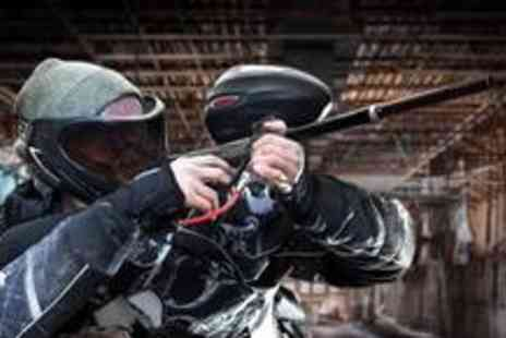 Project Paintball - Paintballing for five, including full equipment hire, 100 paintballs and lunch - Save 86%