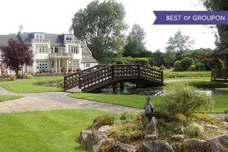 Rookery Manor - One night Stay For Two With Dinner and Spa Access  - Save 34%