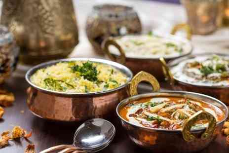 Indian - Two Course Indian Takeaway Meal With Sundries For One  - Save 55%