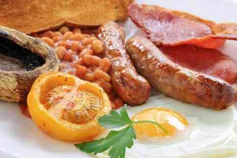 Cafe Med - Mega English Breakfast For Two - Save 52%