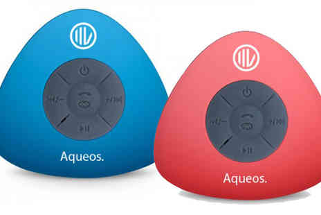 Headsgroup  - Water Resistant Bluetooth Speaker - Save 65%