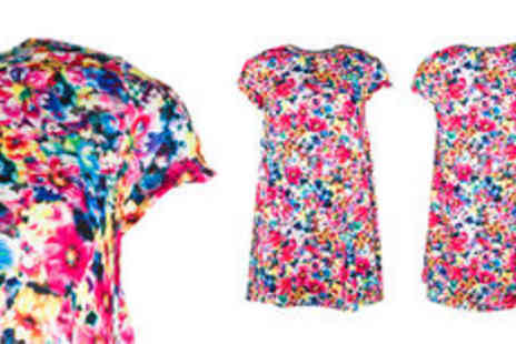GetTheLabel.com - Womens floral swing dress  plus delivery - Save 0%