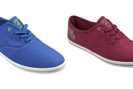 GetTheLabel.com - Mens Henleys Troy pumps in red or blue - Save 0%