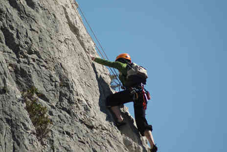 Large Outdoors - Peak District Abseiling Experience - Save 58%