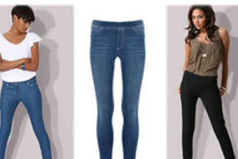 Beauty Fit - Fashionable Super stretchy Skinny Jeggings - Save 70%