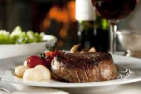 Oscars Bar - Three course meal for two with a bottle of wine - Save 0%