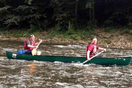 Ross on Wye Canoe Hire Company - Canoe hire for a two man canoe  - Save 0%