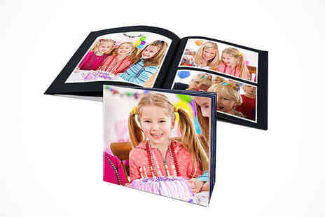 Uk Photo Deals  - 20 Page Soft Cover Photo Book or 20 Page or 40 Page Hardcover Landscape Photo Book - Save 71%