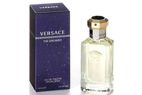 CRM Trading - Versace The Dreamer EDT Spray for Men 100ml - Save 42%
