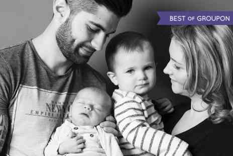 Hammonds Photography Studio - Family Photoshoot With Canvas Print - Save 90%