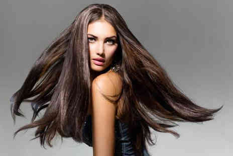 Beauty Box - Brazilian blow dry keratin hair treatment with a senior stylist  - Save 72%