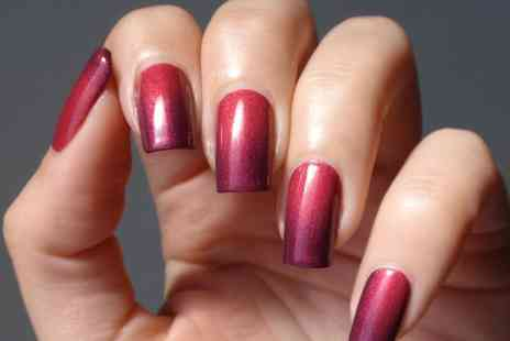 N.SPA - Colour changing Shellac manicure or  upgrade to a mani pedi  - Save 67%