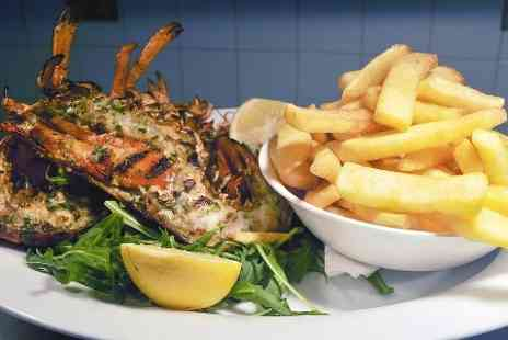 Truc Vert - Lobster and Champagne With Chips or Salad For Two  - Save 52%