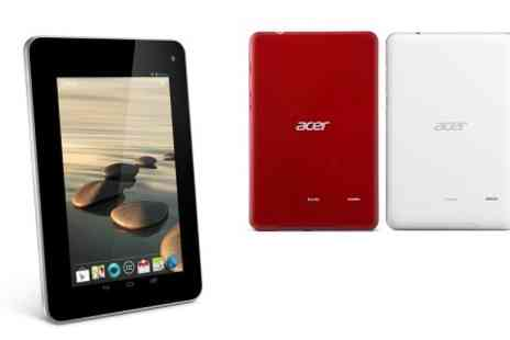 Yellowstone Partners - Acer Iconia B1 710 7'' Dual core Android 4.1 Tablet With Keyboard Case Free Delivery  - Save 55%