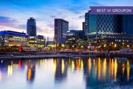 Britannia Hotel Manchester - One night Stay For Two With Breakfast and Pimms  - Save 0%