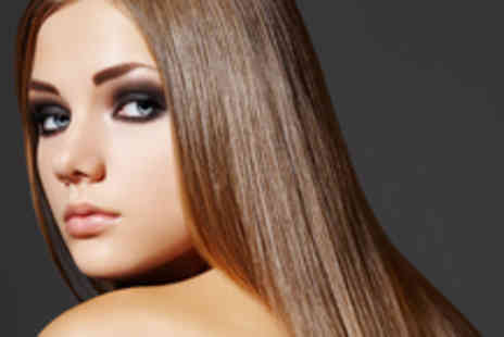 Syer Hair and Beauty - Brazilian blow dry and manicure - Save 70%