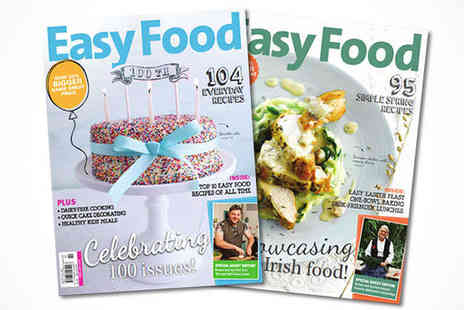 Easy Food Magazine - One Year Subscription to Easy Food Magazine with Delivery Included - Save 45%