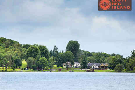 Lusty Beg Island - Two Night Stay for Two with Breakfast Daily a Bottle of Wine If Dining - Save 42%