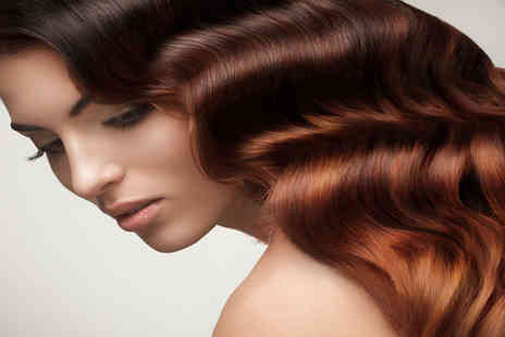 Vogue Hair & Tanning - Cut and blowdry  include a half head of highlights or lowlights  - Save 55%