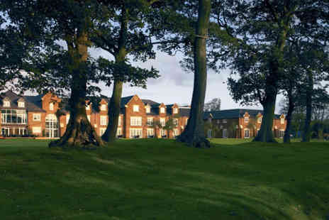 Formby Hall Golf Resort - Luxurious spa day for 2, including full access, lunch and an Atlas Rasul treatment each  - Save 58%