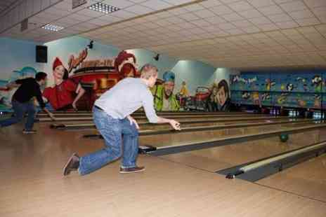 The Dunes - Bowling For Up to Six With Nachos or Fries Basket - Save 84%