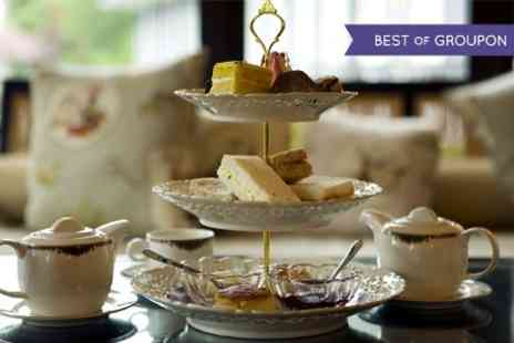 The Manor Hotel - Champagne Afternoon Tea For Two  - Save 45%