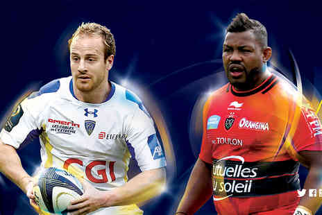 Rugby Football Union - Top priced ticket to the European Rugby Champions Cup on Saturday 2nd May 2015 - Save 50%