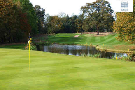 Mottram Hall - 18 Holes of Golf with 25 Range Balls Each for Two  - Save 69%