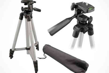 Bar 50 - Portable Camera Tripod with Carry Case - Save 78%