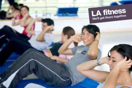 LA Fitness - Ten Individual Day Passes Including Gym, Pool and Classes - Save 88%