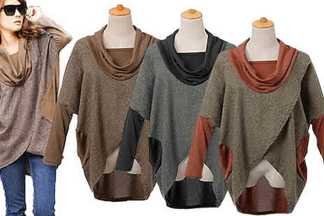 Little Secret Boutique - Layered Slouchy Jumper - Save 65%