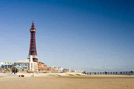 Alfies Hotel - One night Blackpool break for 2 including wine and breakfast - Save 55%