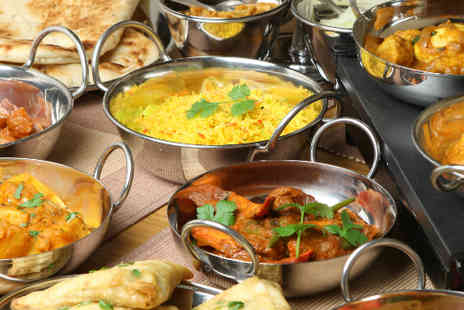 The Raj - Six course Indian meal for two - Save 59%