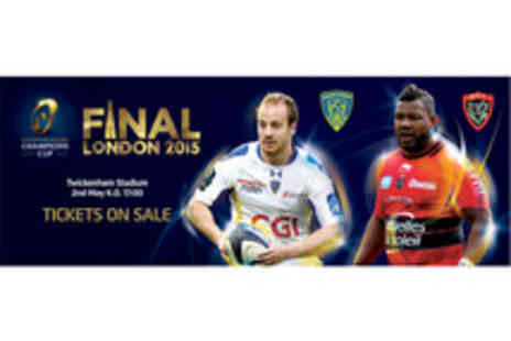 Rugby Football Union - Tickets to the European Rugby Champions Cup Final - Save 54%