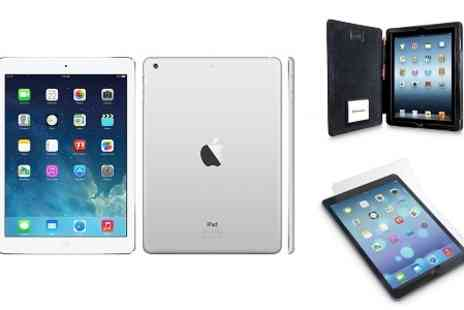 Yellowstone Partners - Apple iPad Air 128GB 4G including Xtrememac Case and Screen Protector With Free Delivery - Save 43%