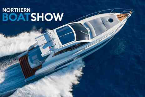 Northern boat show - Entry to Northern Boat Show For Two - Save 50%
