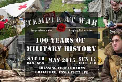Temple Bar -  Adult Ticket to Temple at War - Save 0%
