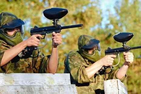 Allied Paintball - Paintball For Ten With Lunch - Save 95%