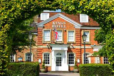Kings Hotel - One or Three Nights For Two With Glass of Bubbly On Arrival  - Save 0%