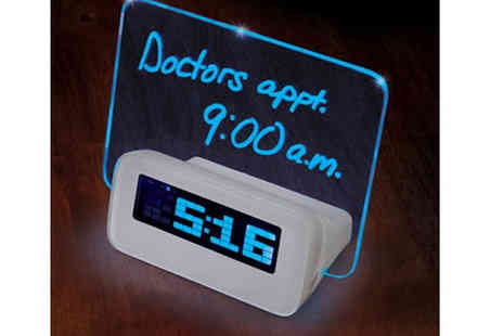 Qualite - Glow Up Message Alarm Clock - Save 50%