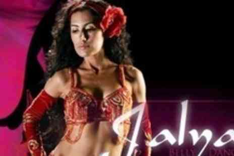 Jalya Belly Dancer - Six Sessions of Belly Dancing and Hula Hooping - Save 81%