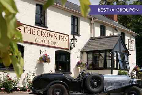 The Crown Inn - Two Course Meal For Two or Four With Pint of Cider Each  - Save 46%