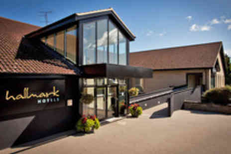 Hallmark Hotel  - Four Star Gourmet Break in the Cotswolds with Wine - Save 26%